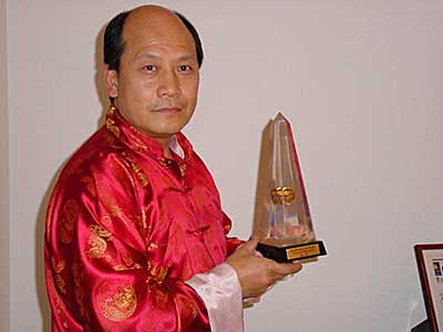 Inducted into Australian Martial Arts Hall of Fame